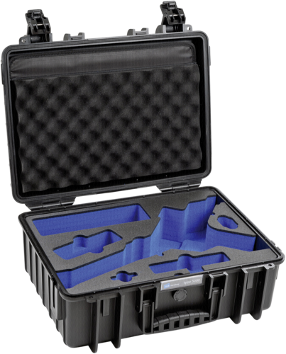 B&W Outdoor Case Type 5000 black with Inlay for DJI Ronin S
