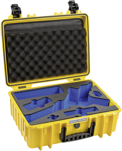 B&W Outdoor Case Type 5000 yellow with Inlay for DJI Ronin S