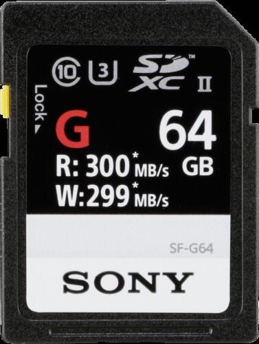 Sony SDXC Professional 64GB Class 10 UHS-II