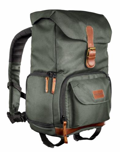 Mantona Backpack Luis Junior Green Retro