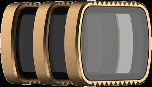 PolarPro Cinema Filter 3-Pack SHUTTER for DJI Osmo Pocket