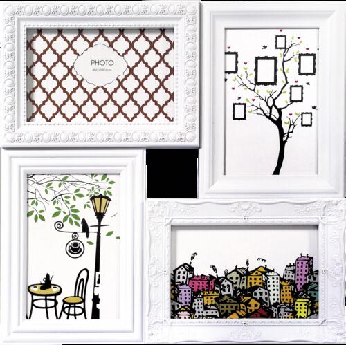 ZEP Cordoba Gallery plastic 4x10x15 white