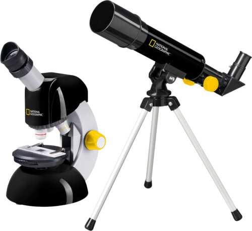 National Geographic Set (Telescope / Microscope)