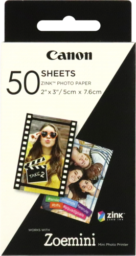 Canon Zink Photo Paper 2x3 - 50 Sheets