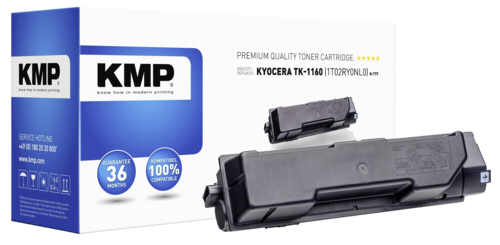 KMP K-T77 Toner black compatible with Kyocera TK-1160