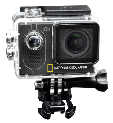 National Geographic 4K Action Camera WiFi 140 °