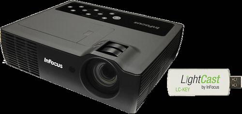 InFocus IN1116 with Lightcast