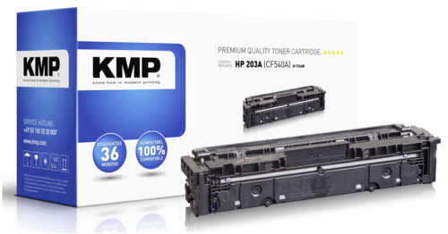 KMP H-T246B Toner black compatible with HP CF 540 A