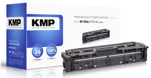 KMP H-T246C Toner cyan compatible with HP CF 541 A