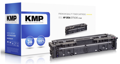 KMP H-T246M Toner magenta compatible with HP CF 543 A