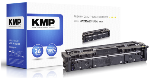 KMP H-T246Y Toner yellow compatible with HP CF 542 A