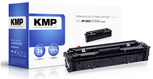 KMP H-T246BX Toner black compatible with HP CF 540 X