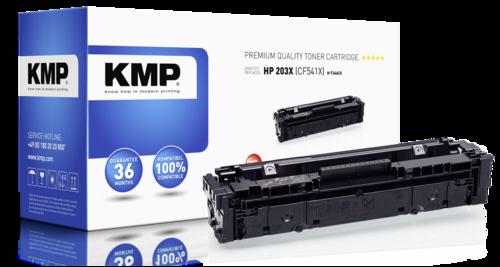 KMP H-T246CX Toner cyan compatible with HP CF 541 X