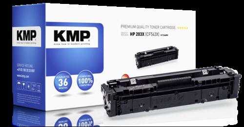 KMP H-T246MX Toner magenta compatible with HP CF 543 X