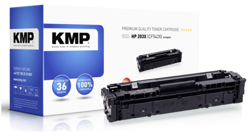 KMP H-T246YX Toner yellow compatible with HP CF 542 X