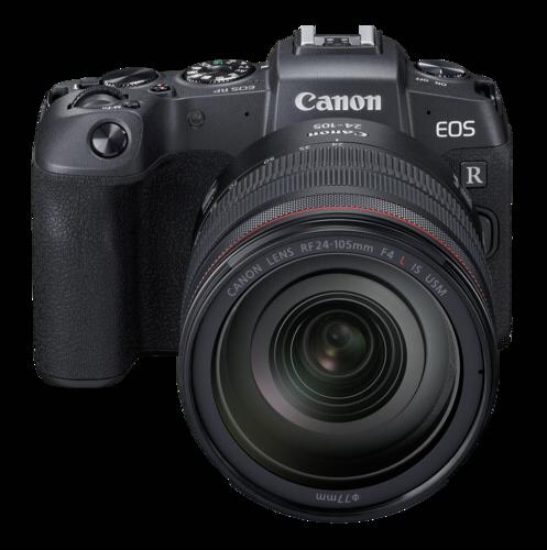 Canon EOS RP Kit RF 24-105mm f/4L IS USM + ΔΩΡΟ Adapter EF-EOS R