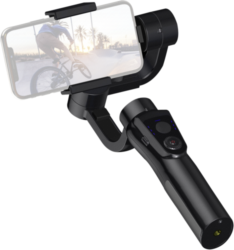 EasyPix GoXtreme GX1 Dual Gimbal for Actioncam and Smartphone