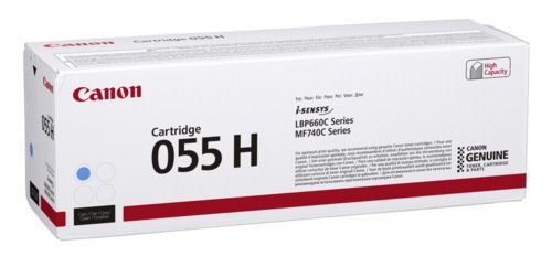 Canon Toner Cartridge 055 H C cyan