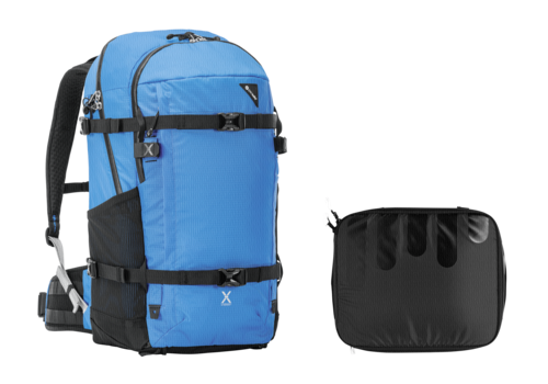 Pacsafe Venture X40 PLUS blue and GuraGear Module Pro medium