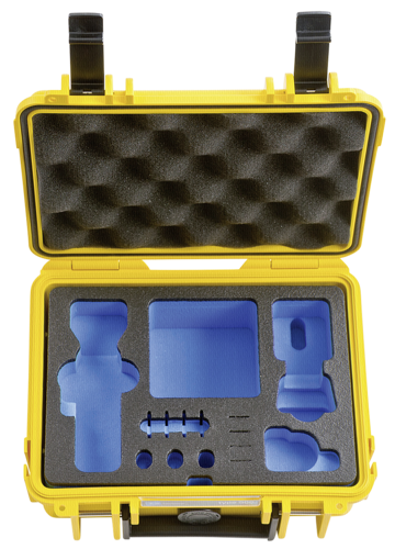 B&W Gimbal Case Type 500 Y yellow for DJI Osmo Pocket