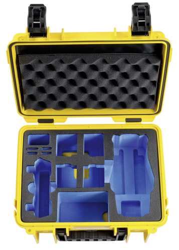 B&W Copter Case Type 3000 yellow for DJI Mavic 2 Pro/Zoom