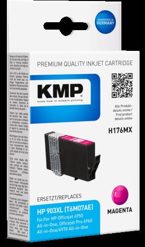 KMP H176MX ink cartridge magenta for HP T6M07AE 903XL