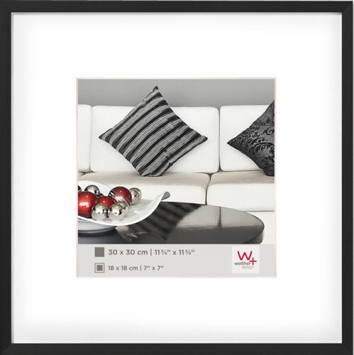 Walther Chair 30x30 Aluminium black