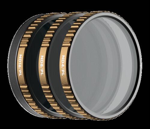 PolarPro Cinema Filter 3-Pack VIVID for DJI Osmo Action