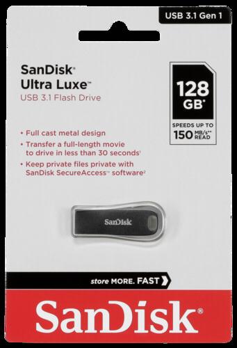 SanDisk Cruzer Ultra Luxe 128GB USB 3.1