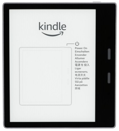 Kindle Oasis graphite