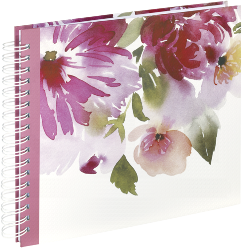 Hama Watercolor Flower 28x24 - 50 white pages
