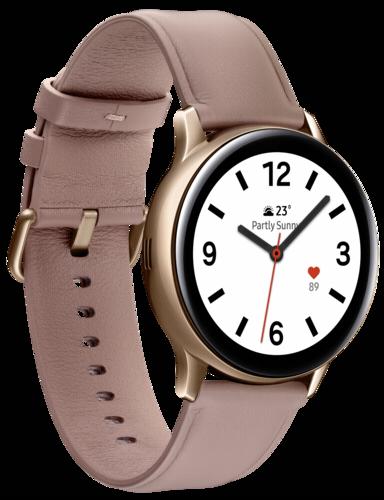 Samsung Galaxy Watch Active2 Stainless Steel 40mm LTE Gold