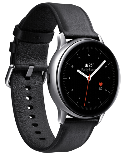 Samsung Galaxy Watch Active2 Stainless Steel 40mm LTE Silver
