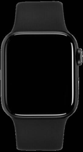 Apple Watch Series 5 GPS 44mm Alu Case Grey Black Sport Band