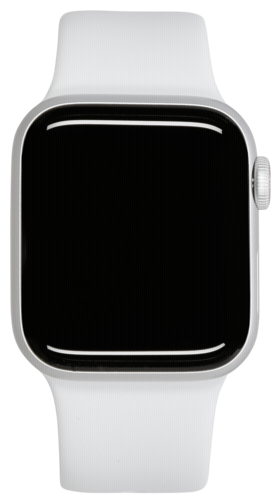 Apple Watch Series 5 GPS + Cell 44mm Silver Alu Case White Band