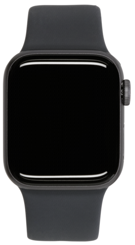 Apple Watch Series 5 GPS + Cell 44mm Grey Alu Case Black Band
