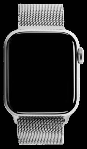 Apple Watch Series 5 GPS + Cell 44mm Steel Case Milanese Loop