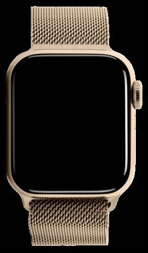 Apple Watch Series 5 GPS + Cell 40mm Steel Case Gold Loop