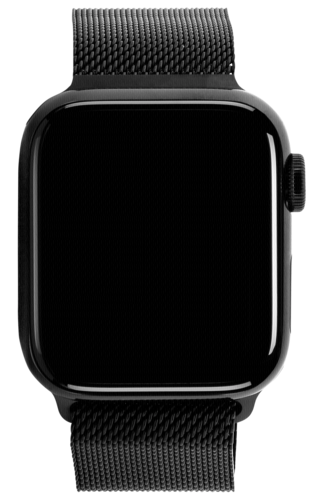 Apple Watch Series 5 GPS + Cell 40mm Steel Case Black Loop