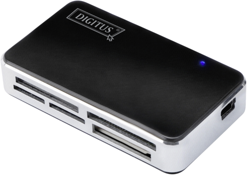 Digitus all-in-1 card reader USB2T-Flash+USB A/M mini 5PCable