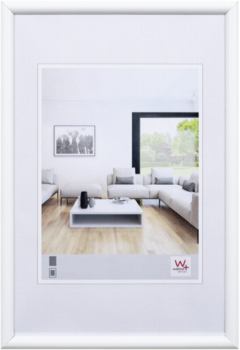 Walther Bozen Wood 30x40 white