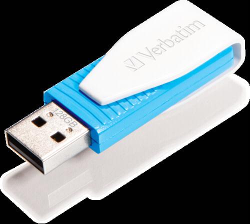 Verbatim Store n Go Swivel 128GB USB 2.0 blue