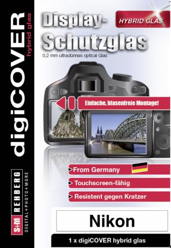 DigiCover Hybrid Glass Display Cover Nikon Z50
