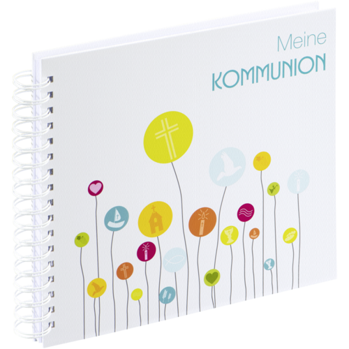 Hama Kommunion Spiral 28x24 - 50 white pages