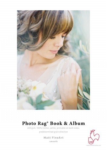 Hahnemuhle Photo Rag Book and Album A4 220g (25 Sheets)