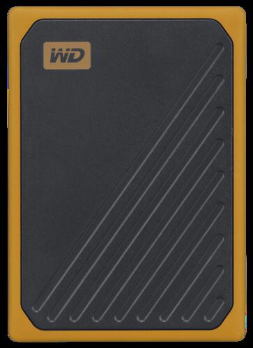 Western Digital MyPassport Go 2TB Black Yellow
