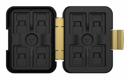 PolarPro Memorycard Storage Case 8SD / 16 MicroSD cards