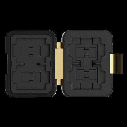 PolarPro Memorycard Storage Case 4 SD, 4 MicroSD, 4 XQD