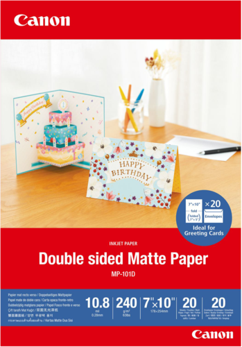 Canon MP-101 D Matte Paper 7x10 240 g (20 Sheets)