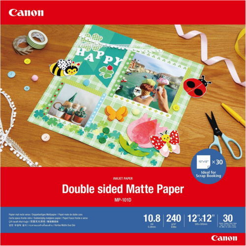 Canon MP-101 D Matte Paper 12x12 240 g (30 Sheets)